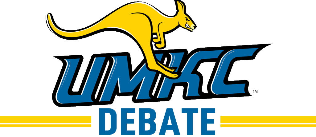 Image result for umkc debate logo